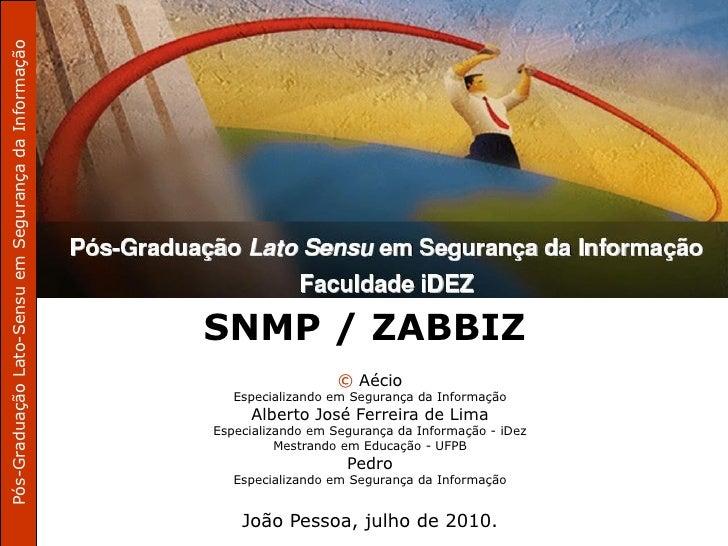 Pós-Graduação Lato-Sensu em Segurança da Informação                                                           Curso de Inf...