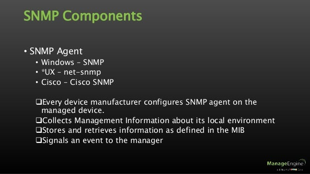 Snmp Demystified Part I
