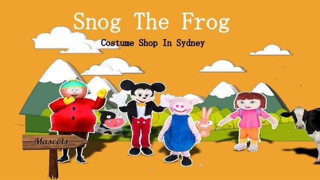 Snog The Frog Costume Shop In Sydney