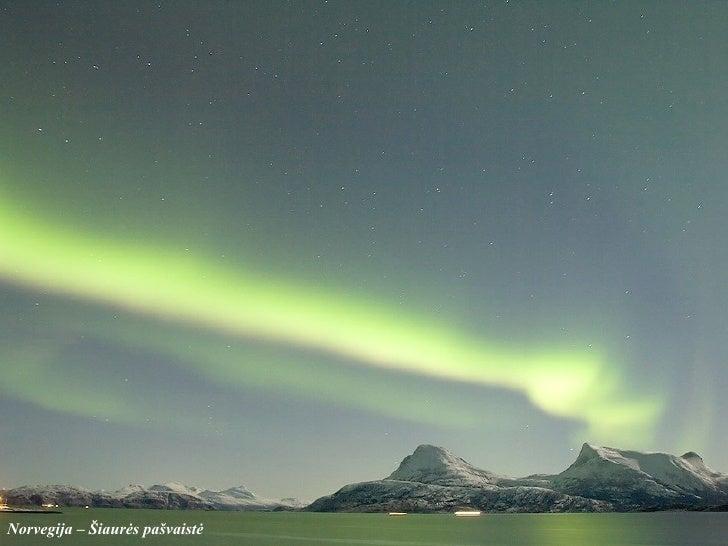 Norvegija –  Šiaurės pašvaistė