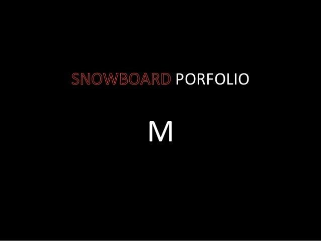 PORFOLIO      M