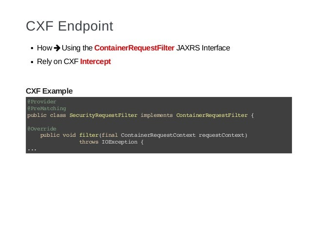 Security enforcement of Java Microservices with Apiman