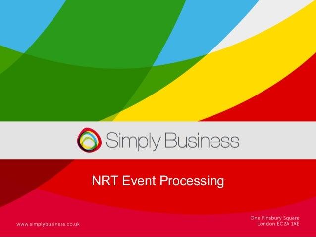 NRT Event Processing