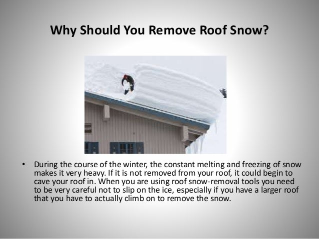 How To Keep Your Roof Undamaged Saint Charles Snow Removal