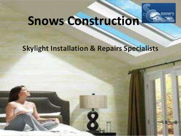 Snow S Construction