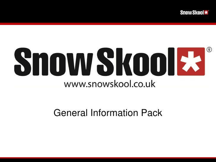 General Information Pack