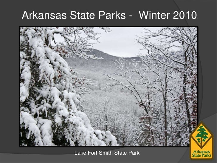 Arkansas State Parks -  Winter 2010<br />Lake Fort Smith State Park<br />