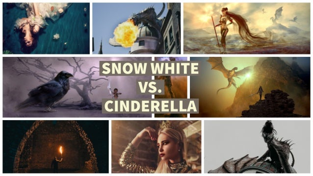 Snow White vs. Cinderella Movie Poster