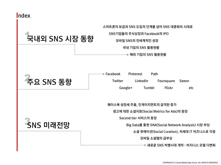 SNS시장동향보고서(소셜미디어데이터포럼) Slide 2