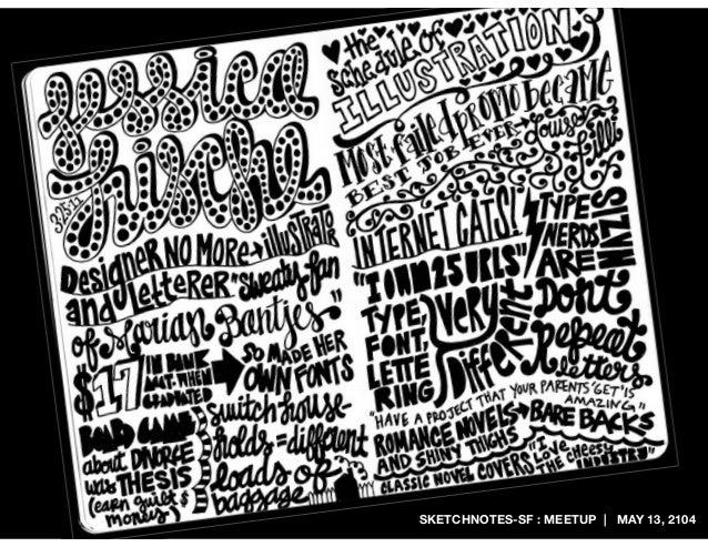 SKETCHNOTES-SF : MEETUP | MAY 13, 2104
