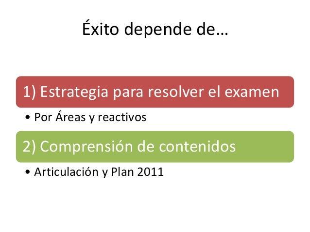 Examen de ingreso a la docencia (SEP) Slide 2