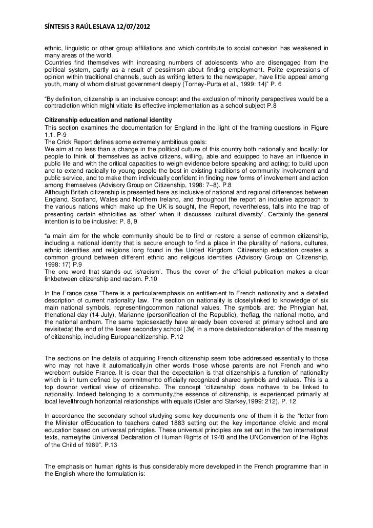 citizenship and diversity essay Global citizenship essay global warming - 2091 words p1 - explain the range of meanings attached to citizenship, diversity and the associated terminology global business cultural analysis barbados.