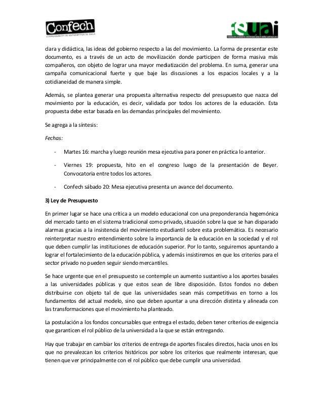 Síntesis CONFECH UAI Slide 2