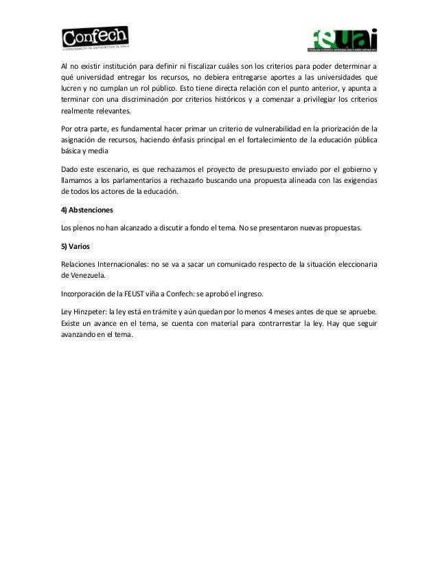 Síntesis CONFECH UAI Slide 3