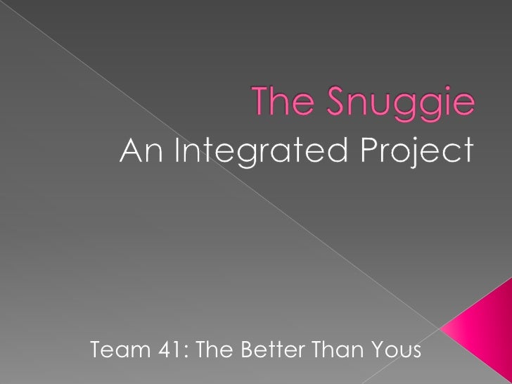 Team 41: The Better Than Yous