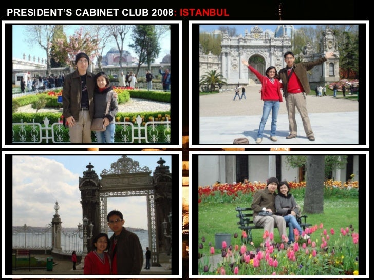 PRESIDENT'S CABINET CLUB 2008 : ISTANBUL