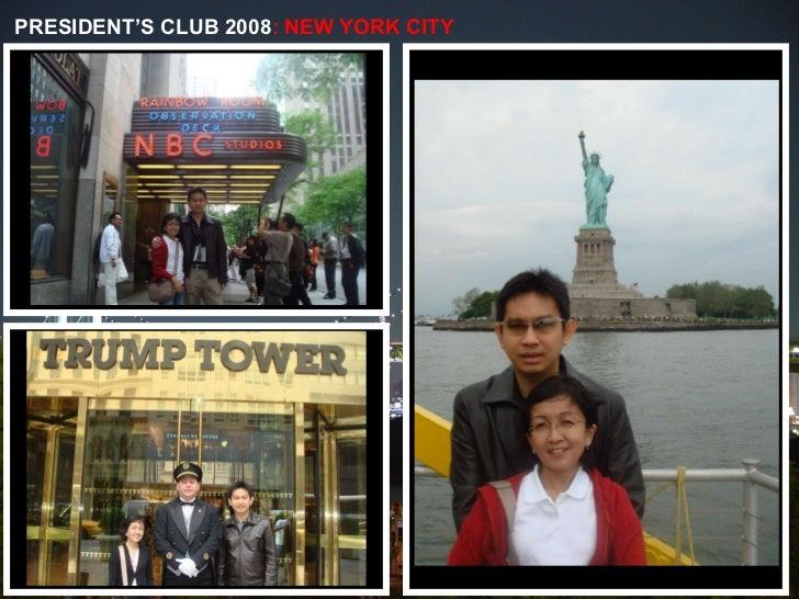 PRESIDENT'S CLUB 2008 : NEW YORK CITY