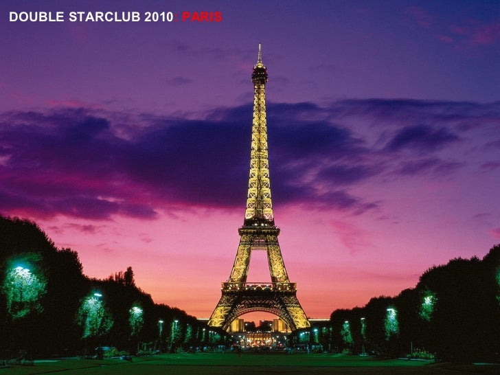 DOUBLE STARCLUB 2010 : PARIS