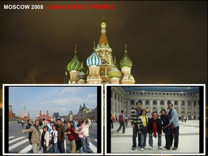 MOSCOW 2008 : 3 QUALIFIERS, 5 PEOPLE