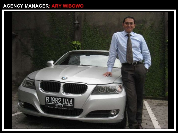 AGENCY MANAGER : ARY WIBOWO