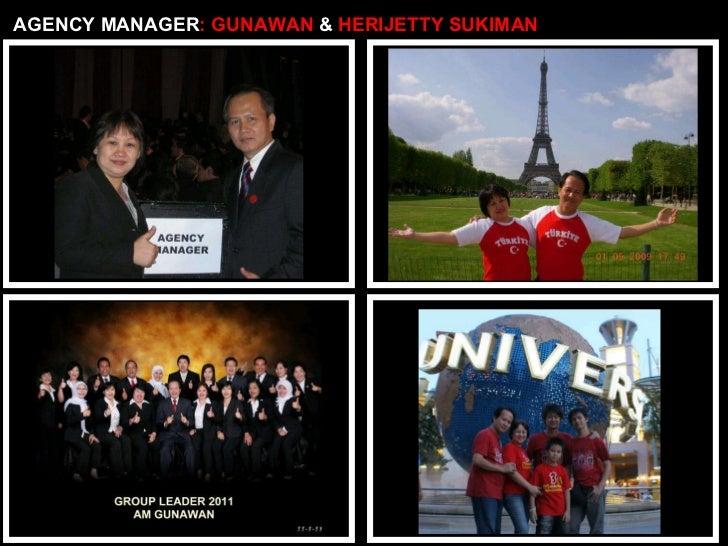 AGENCY MANAGER : GUNAWAN  &  HERIJETTY SUKIMAN
