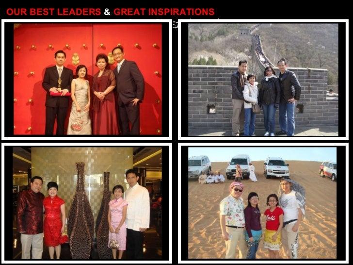 Our Best Leaders Herman Widjaja & Susan Utami OUR BEST LEADERS  &  GREAT INSPIRATIONS