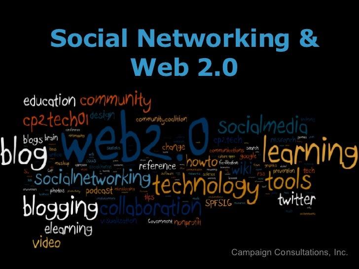 Social Networking & Web 2.0 Campaign Consultations, Inc.