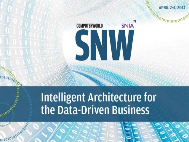 Analyst Perspective:Next Generation Storage Networking for     Next Generation Data Centers                     Dennis Mar...