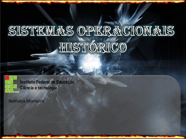 Instituto Federal de Educação,Ciência e tecnologiaNathalya Monteiro