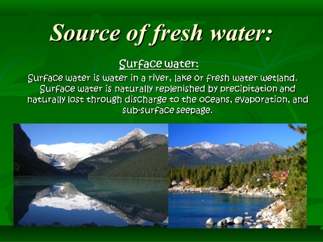 resources of water ppt Biology natural resources class 9th natural  water, air sun shine, land soil, forests, wildlife, fishes, minerals and power resources all are useful to man.