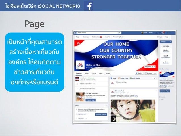 โซเชียลเน็ตเวิร์ค (SOCIAL NETWORK) เป็นหน้าที่คุณสามารถ สร้างเนื้อหาเกี่ยวกับ องค์กร ให้คนติดตาม ข่าวสารเกี่ยวกับ องค์กรหร...