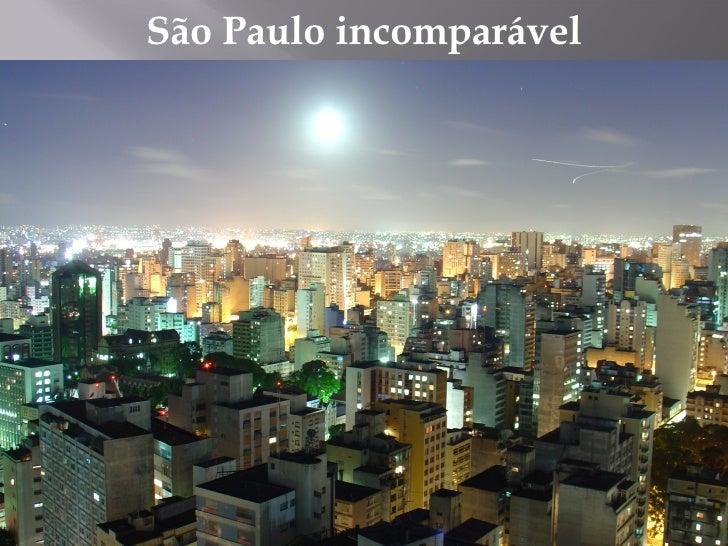 São Paulo incomparável
