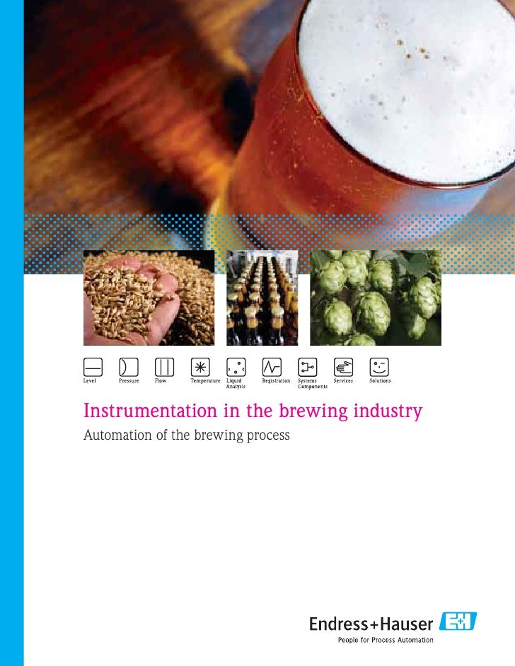 Instrumentation in the brewing industryAutomation of the brewing process