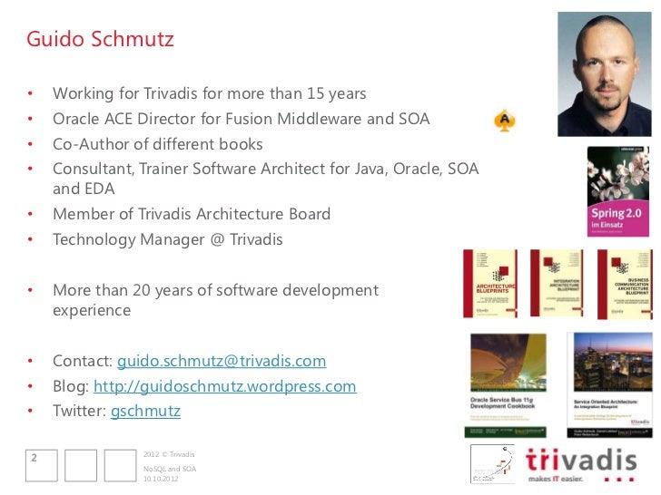 NoSQL and SOA Slide 2