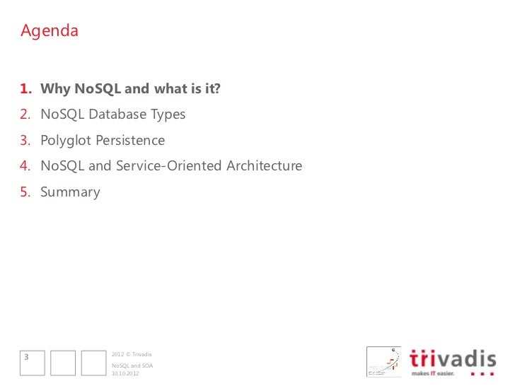 NoSQL and SOA Slide 3