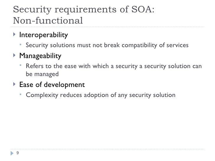 SOA Security Model For EAI