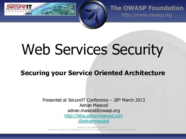 thesis on web services security Our thesis writing service offers you samples of our academic works  student collaboration using web 20 technologies:  when you use the services of.