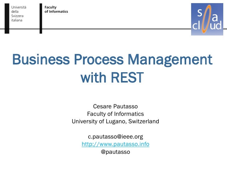 BPM with REST