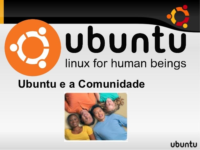 Ubuntu e a Comunidade