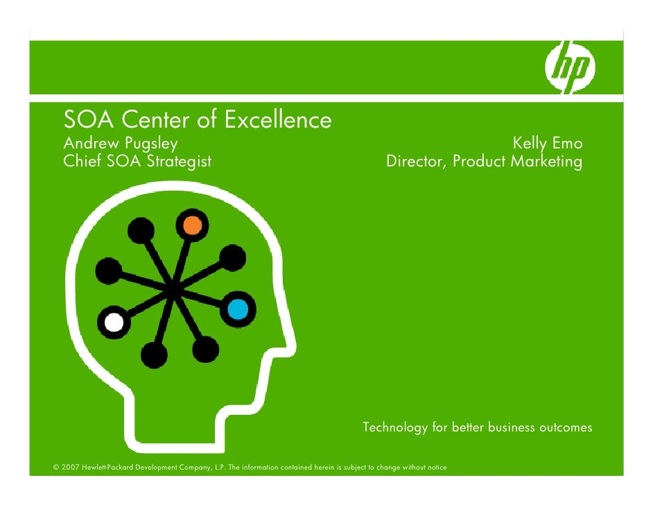 SOA Center of Excellence   Andrew Pugsley                                                                                 ...