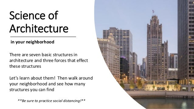 Science of Architecture in your neighborhood There are seven basic structures in architecture and three forces that effect...