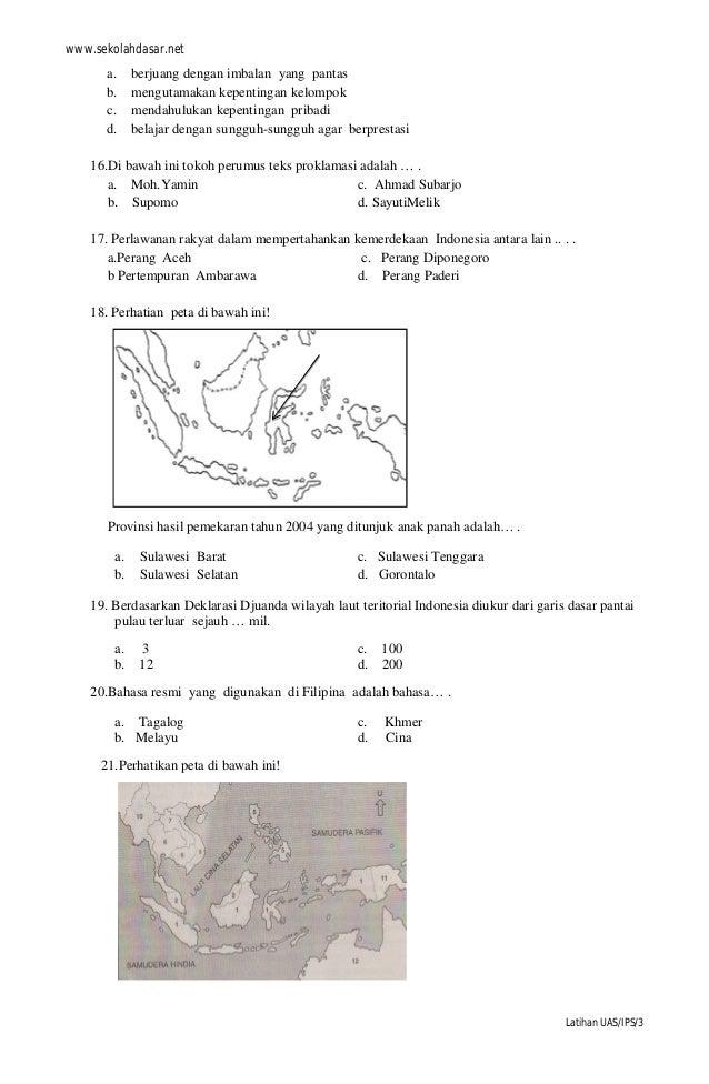 99 Search Results Soal Ulangan Semester Dan Kunci Jawaban Ips 1 Smp Kelas Uas Matematika