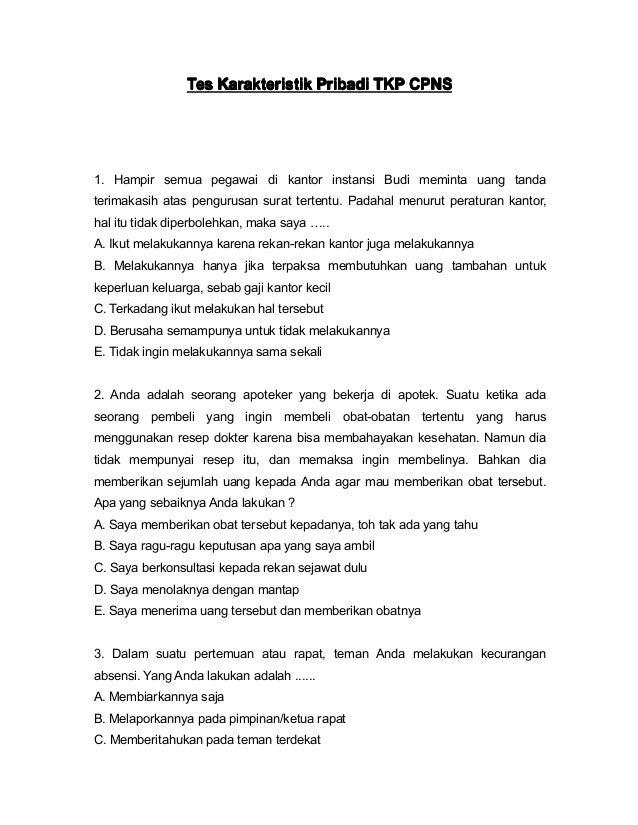 10+ Soal cpns 2017 pdf dan pembahasan ppdb 2021