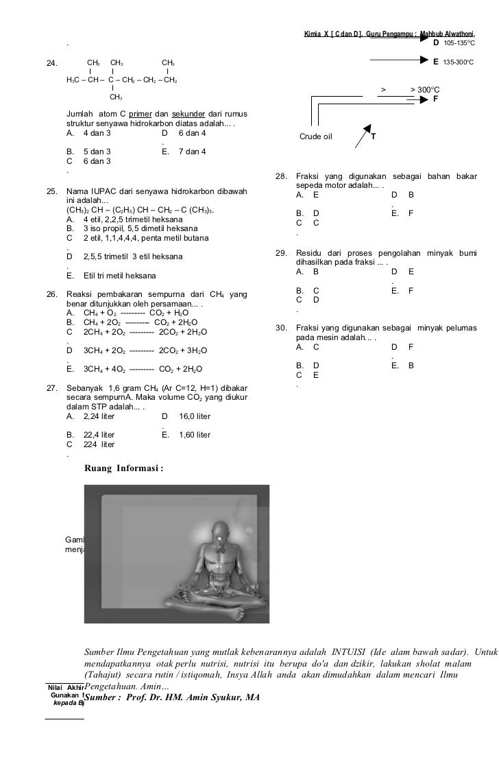 Kunci Jawaban Buku Paket Kimia Kelas 10 Kurikulum 2013 ...