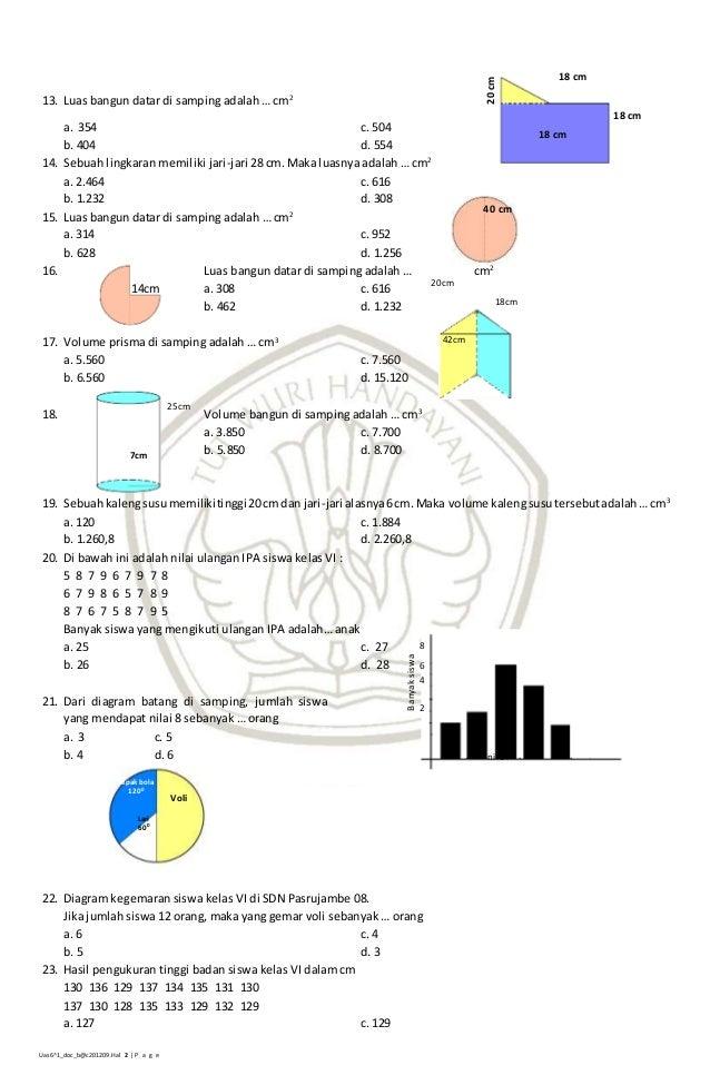 Soal matematika-6-12007