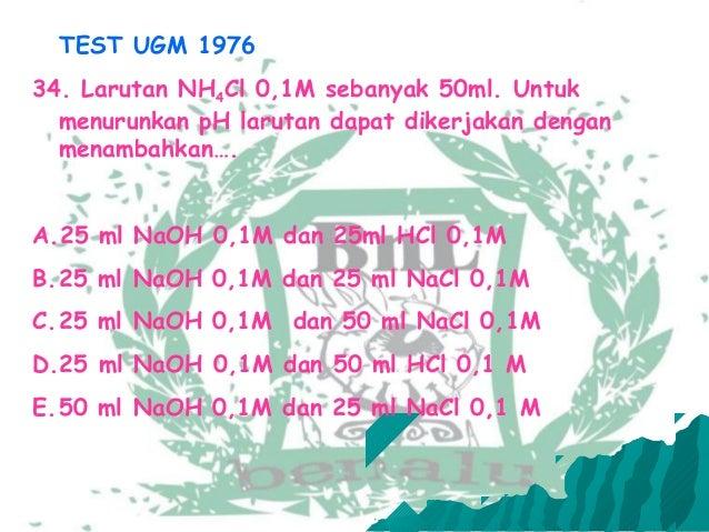 Soal2 P H Larutan