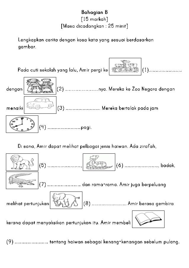 Peribahasa Latihan Simpulan Bahasa Tahun 5 Cikimm Com