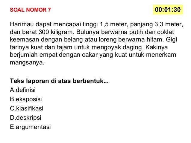 soal bahasa indonesia sma semester 1 kelas xi