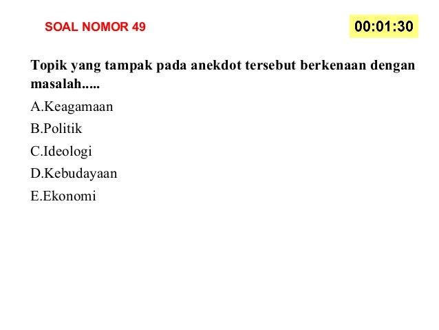 Soal Bahasa Indonesia Kelas X Kurikulum 2013