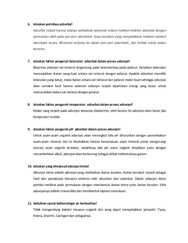 Soal dan Jawaban Kimia Terapan Slide 2